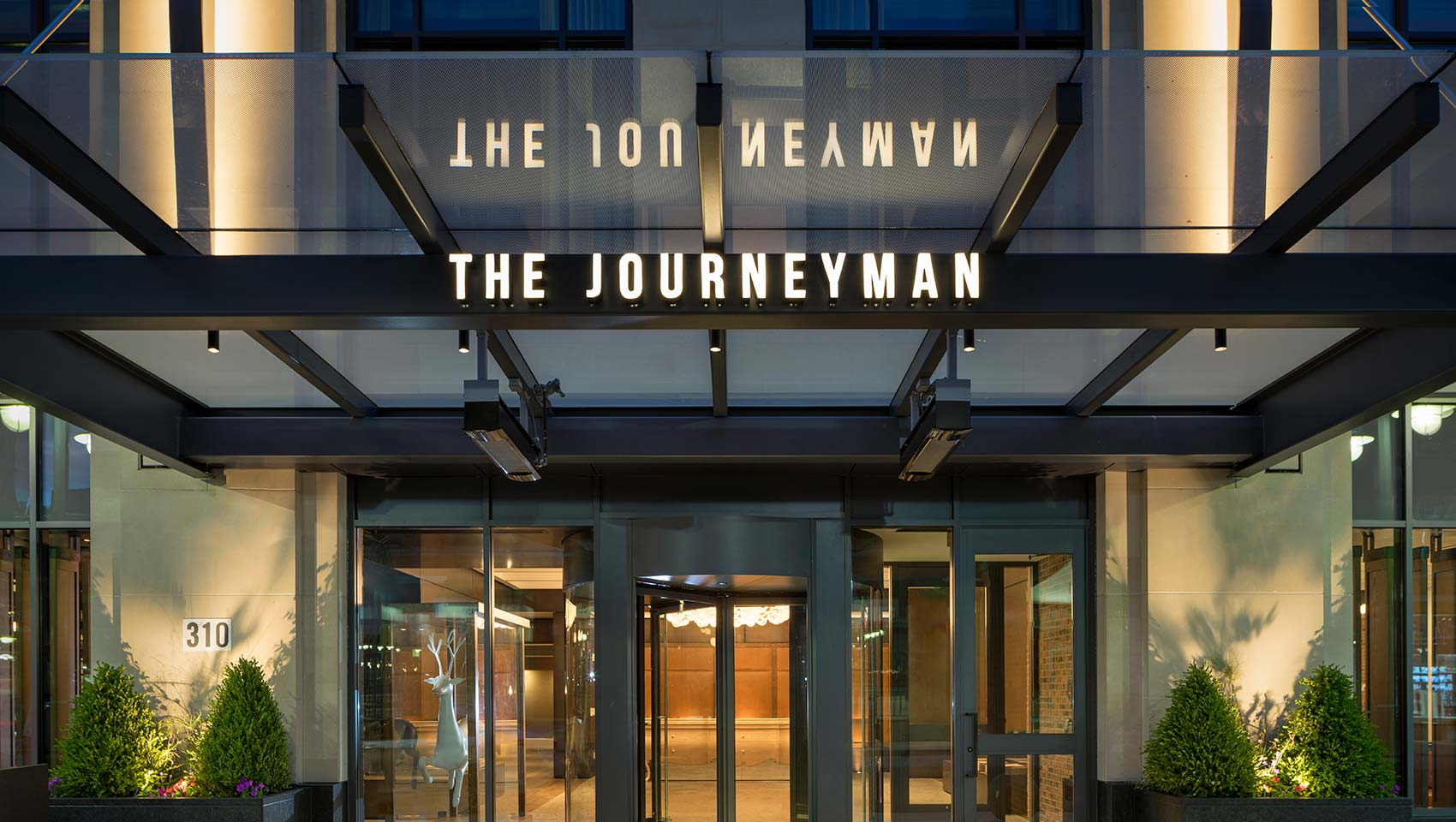 Kimpton The Journeyman front entrance