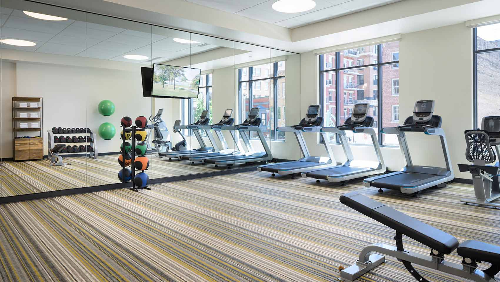 Kimpton The Journeyman fitness center
