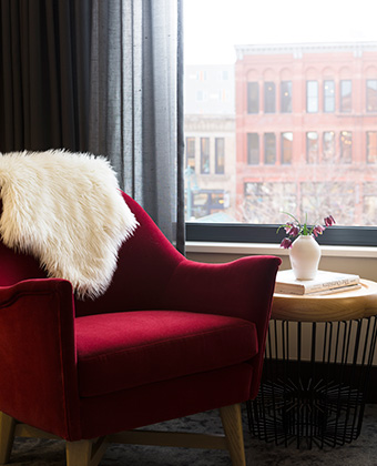 accommodations at kimpton journeyman hotel